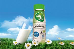 Half-volle melk Biodia